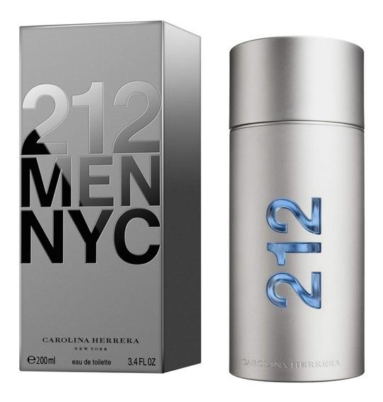 Perfume 212 Men Nyc 200 Ml -100% Original