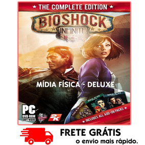 Bioshock Infinite The Complete Edition Pc : Mídia Física