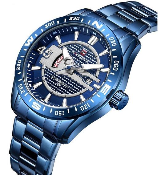 Relógio Masculino Naviforce Esportivo Laçamento Original