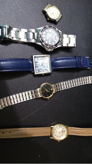Lote Relógios Technos Mondaine Condor Dumont (sem Bateria)