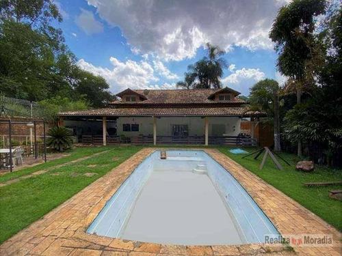 Casa Em Condomínio Com 4 Dormitórios À Venda, 780 M² Por R$ 1.650.000 - Chácara Dos Junqueiras - Carapicuíba/sp - Ca1955