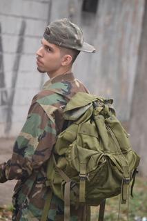 Mochila Combate Exército Americano U.s.a Fantasia Vietnan