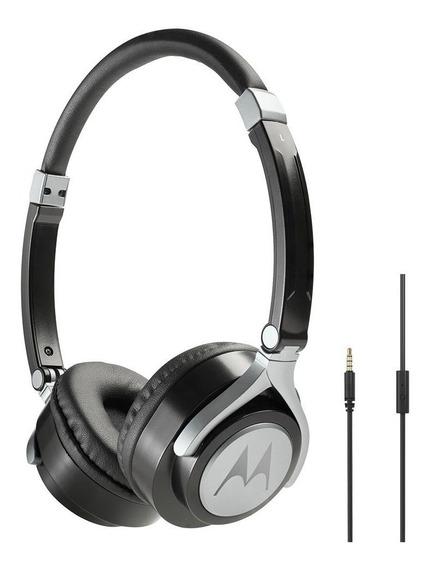 Fone Para Pc Chat Skype Motorola Pulse 2 C/ Microfone Com Nf