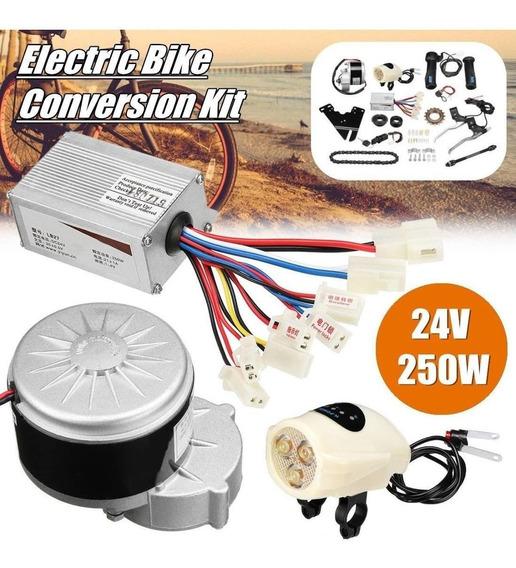 Kit Montagem Modulo Motor 250w Bicicleta Eletrica C/ Bateria