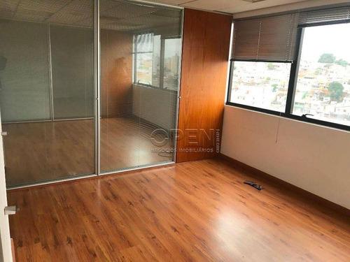 Imagem 1 de 9 de Sala, 140 M² - Venda Por R$ 770.000,00 Ou Aluguel Por R$ 5.000,00/mês - Paraíso - Santo André/sp - Sa0994