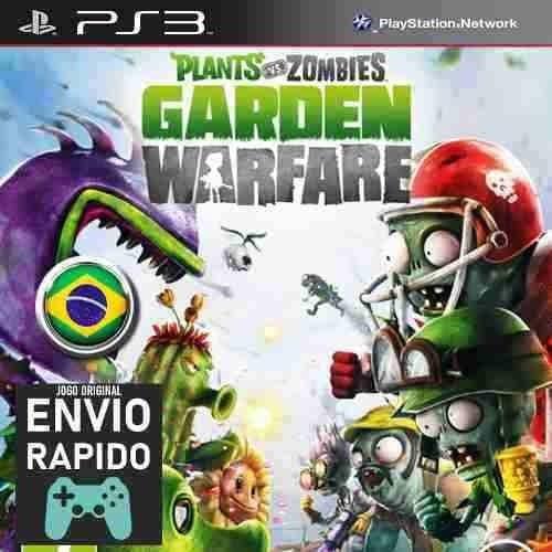 Plants Vs Zombies Garden Warfare Jogos Ps3 Original