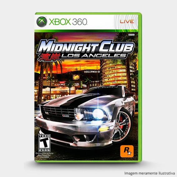 Midnight Club Los Angeles - Original Para Xbox 360 Novo