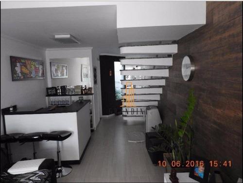 Sobrado Com 3 Dormitórios À Venda Por R$ 485.000,00 - Vila Linda - Santo André/sp - So0067