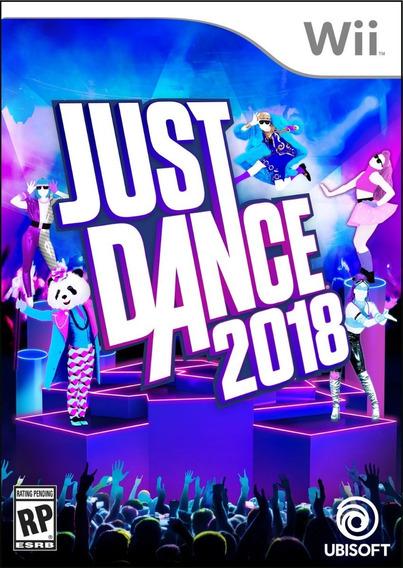 Just Dance 2018 Para Wii (leia O Anuncio)