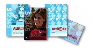 Libro Attitude Macmillan Workbook+student+teacher Book Hd