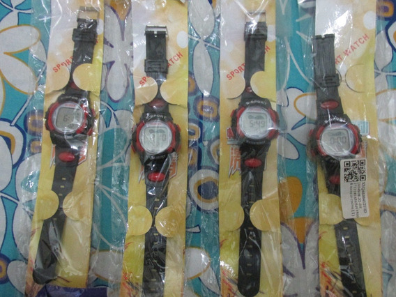 Kit Com 4 Relógios Infantis Digital Honhx