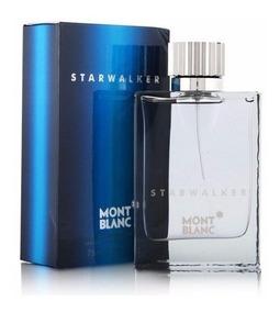 Perfume Starwalker Mont Blanc 75ml Edt Original Lacrado