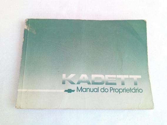 Manual Do Proprietario Do Kadett Da Chevrolet