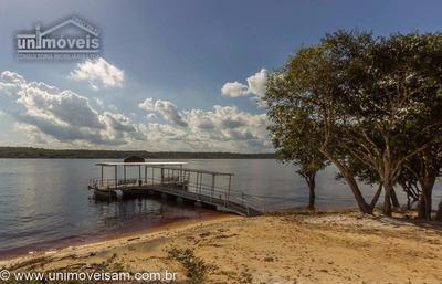 Terreno A Venda No Praia Dos Passarinhos. Lote De 1.309,00 M², Ponta Negra, Manaus - Te00073 - 3466336