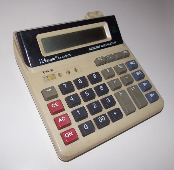 Calculadora Mesa Kenko Kk 3288 Quebrada