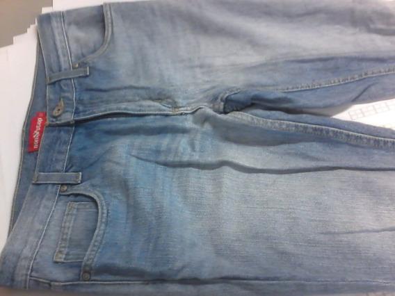 .: Pantalón Non Stop Azul Claro Skinny 32 :: Seminuevo !!!