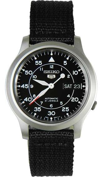 Reloj Seiko 5 Snk809 De Acero Inoxidable Para Hombres Nuevo