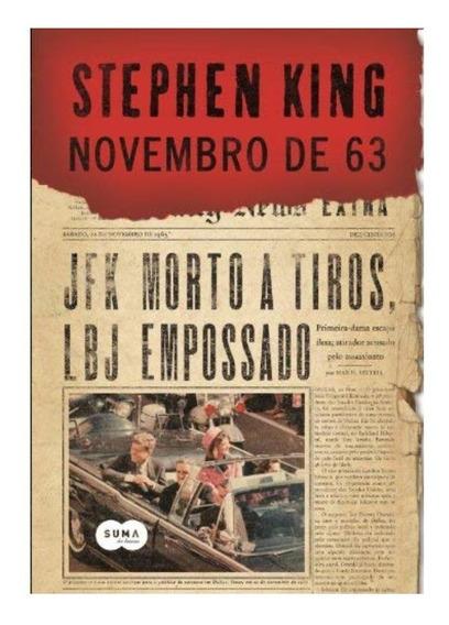 Livro - Novembro De 63 Stephen King
