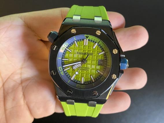 Relógio Audemars Black Green