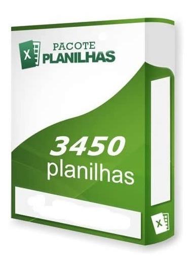 Banco 3450 Modelos Planilhas Pronta Excel Editáveis