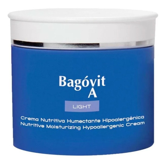 Bagóvit A Light Crema Nutritiva Humecta Pieles Sensibles