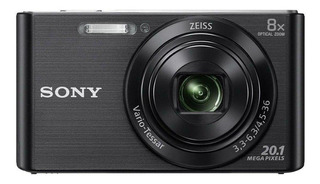 Sony Cyber-shot DSC-W830 compacta negra