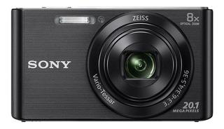 Sony Cyber-shot DSC-W830 compacta color negro