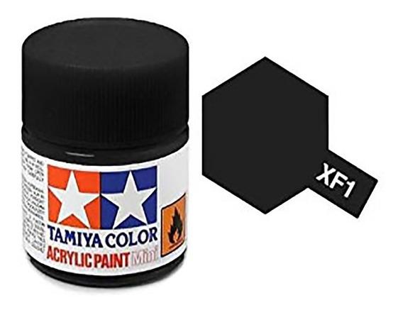 Tamiya Tinta Acrílica Xf-1 Preto Fosco (10ml)