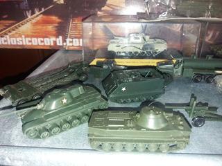 Lote De 13 Tanques Y Camiones Militares Escala 1/87