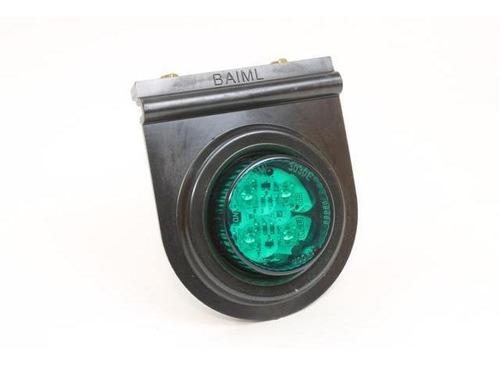 Faro Flexible Electronico Bivoltaje 12v-24v C/4 Led´s Verde