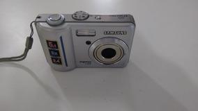 Camera Samsung Digimax S500 Para Tirar Peças + Case + Cabo