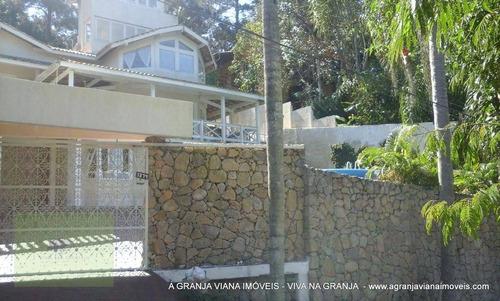 Imagem 1 de 30 de Casa Com 5 Dormitórios À Venda, 427 M² Por R$ 899.000,00 - Granja Viana - Cotia/sp - Ca1435