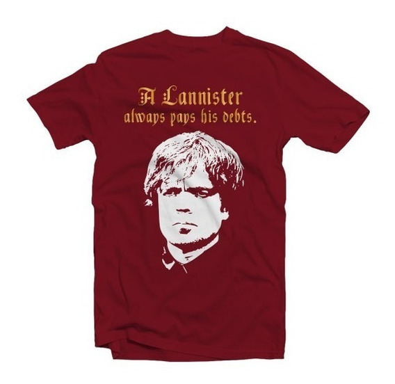 Playeras Game Of Thrones Stark Lannister 18 Modelos!!!