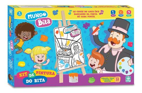 Kit De Pintura O Mundo Bita - Nig Brinquedos