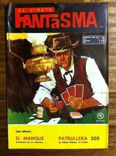 Comic El Jinete Fantasma Nº 213 - Editorial Quimantu