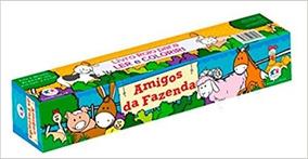 Livro Rolo Amigos Da Fazenda + Animais De Estimação Kit C/2
