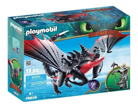 Playmobil Dragoes Grimmel Com Deathgripper 70039 Sunny