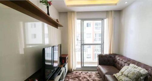 Imagem 1 de 30 de Apartamento Com 3 Dormitórios À Venda, 62 M² Por R$ 380.000,00 - Vila Homero Thon - Santo André/sp - Ap11815