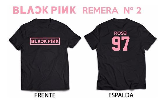 Blackpink Rosé 97 Kpop Remera Nº2