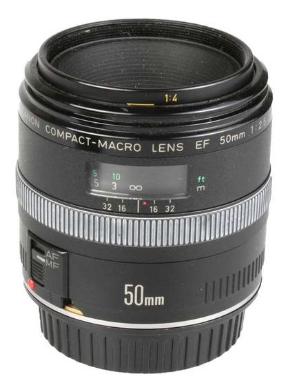 Objetiva Canon Ef 50mm F2.5 Compact-macro