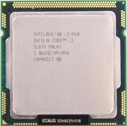 Processador Intel Core I3-540 3.0ghz 4mb Lga 1156 Semi Novo