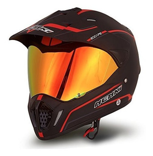 Casco Deportivo Dual De Nenki Full Face Motocross Y Cascos P