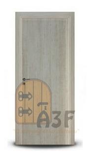 Puerta Placa Oblak Tekstura 70-10 Nevada M/madera