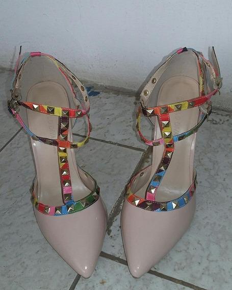 Zapatos Tacon Wild Diva Damas 37 Valentino