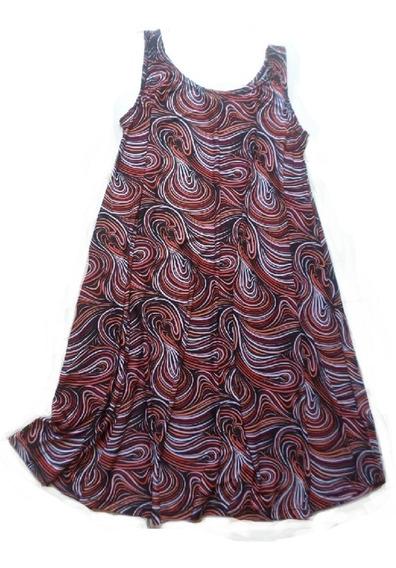 Vestido Solero Musculosa Seda Frìa Estampados