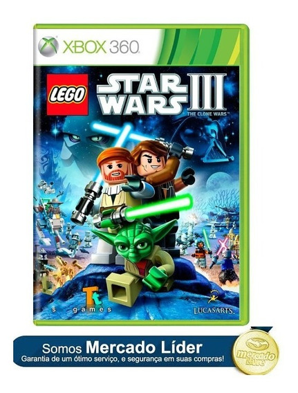 Lego Star Wars 3 Iii Xbox 360 E Xbox One Original