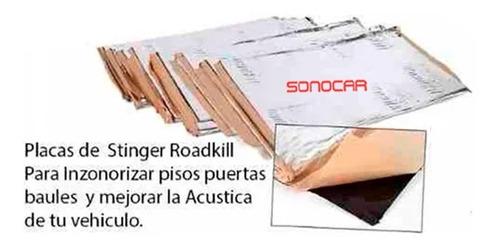 Stinger Roadkill Insonorizante 4 Placas Rkx36b/1 Sonocar