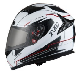 Capacete Moto, Motociclista X11 Volt Branco