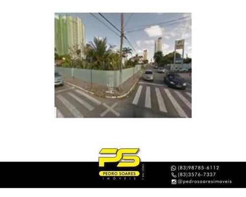 Casa Com 3 Dormitórios À Venda, 900 M² Por R$ 1.800.000 - Estados - João Pessoa/pb - Ca0862