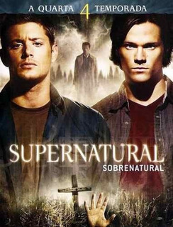 Supernatural 4° Temporada Completa - Box Original Lacrado